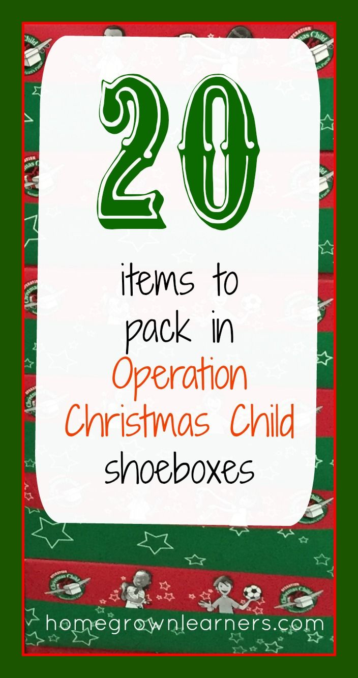 operation christmas child letter template Collection-20 Items to Pack in Operation Christmas Child Shoeboxes 12-t