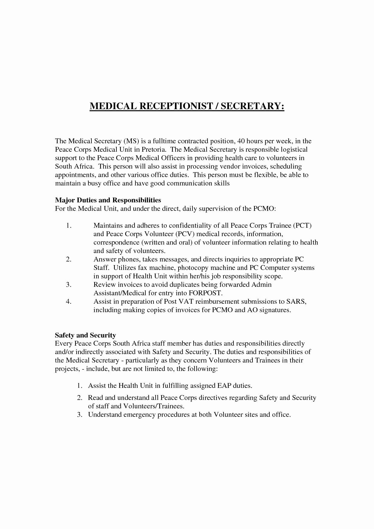 Medical Emergency Letter Template - 11 New Medical Fice Letter Templates Kehillaton Kehillaton