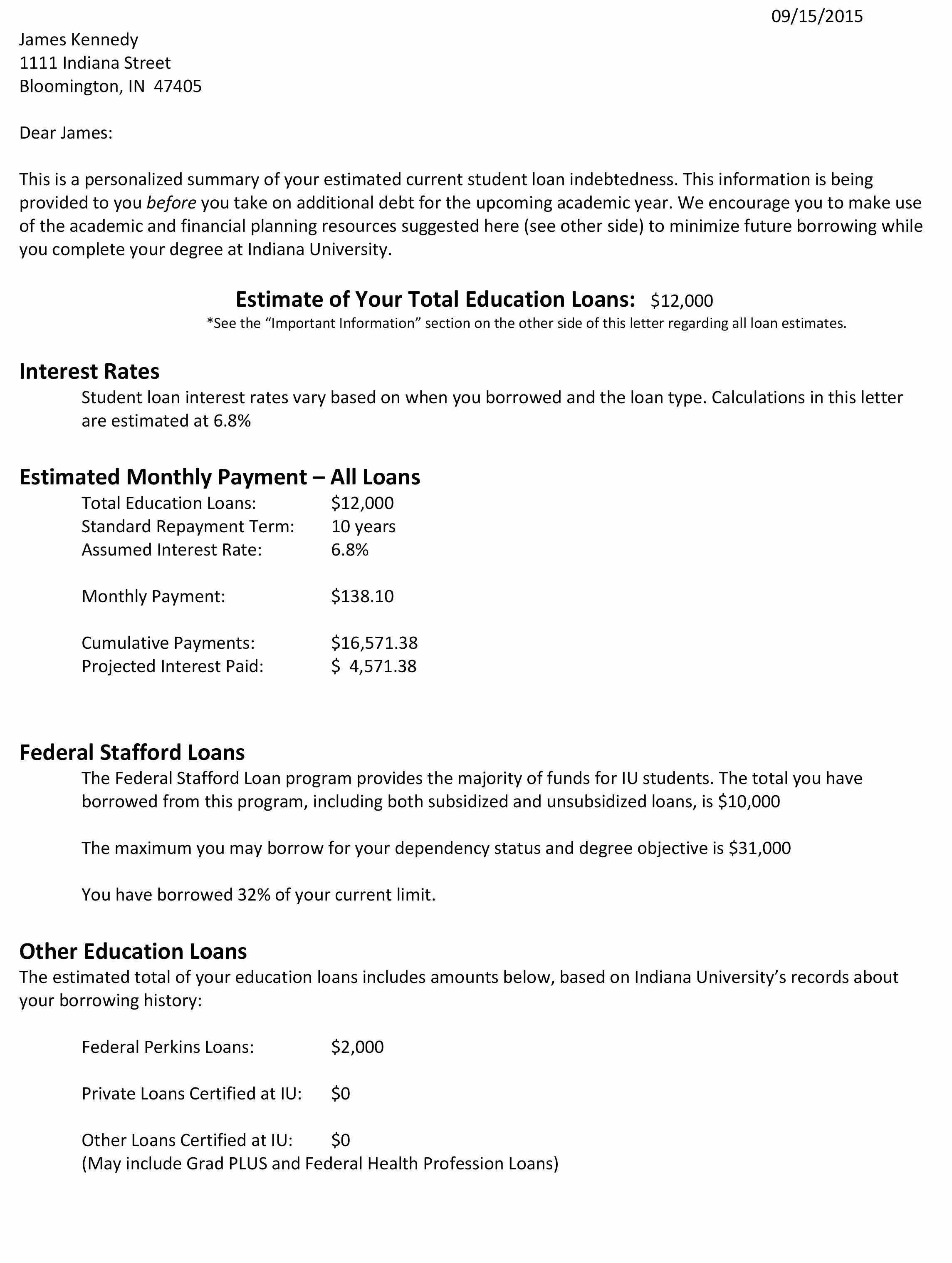 Student Loan forgiveness Letter Template - 15 Best Payment Terms Letter Template Resume Templates Resume