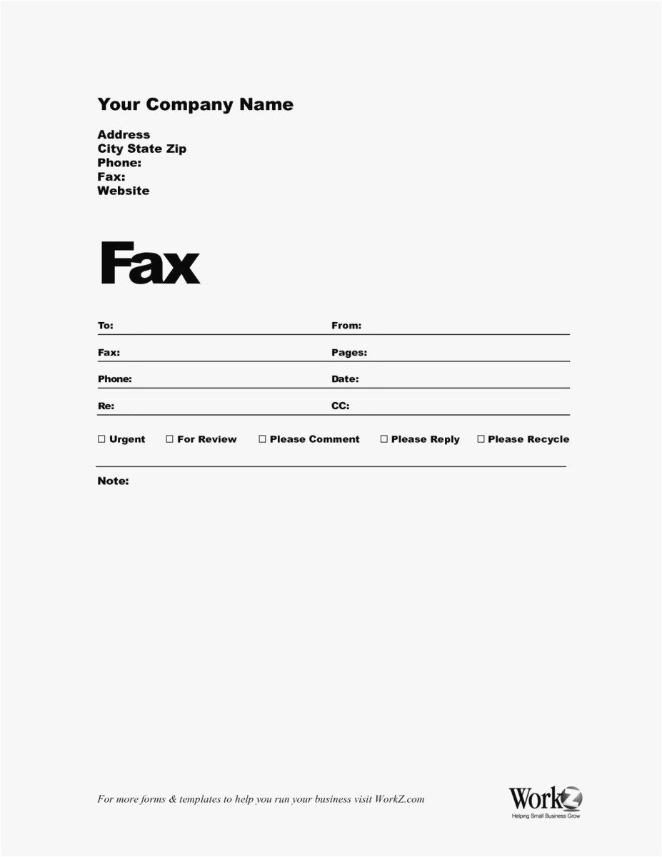 Free Fax Cover Letter Template Word - 18 Cover Letter Templates Word Picture