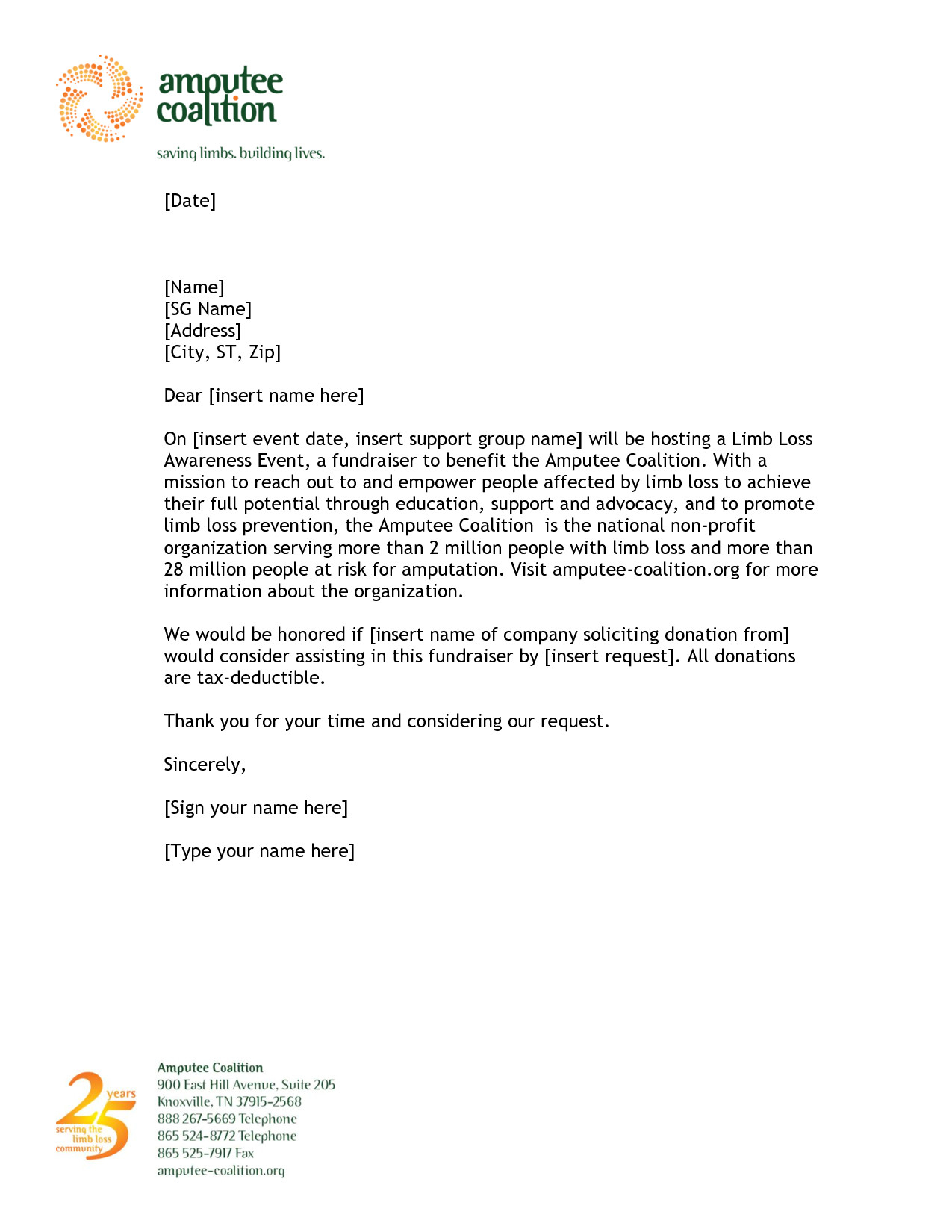 Sponsorship Letter Template for Non Profit - 20 New Letter Template for Donations Request