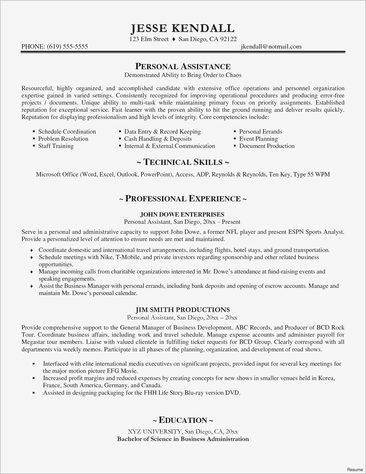 Buyer Cover Letter Template - 21 Beautiful San Diego Resume