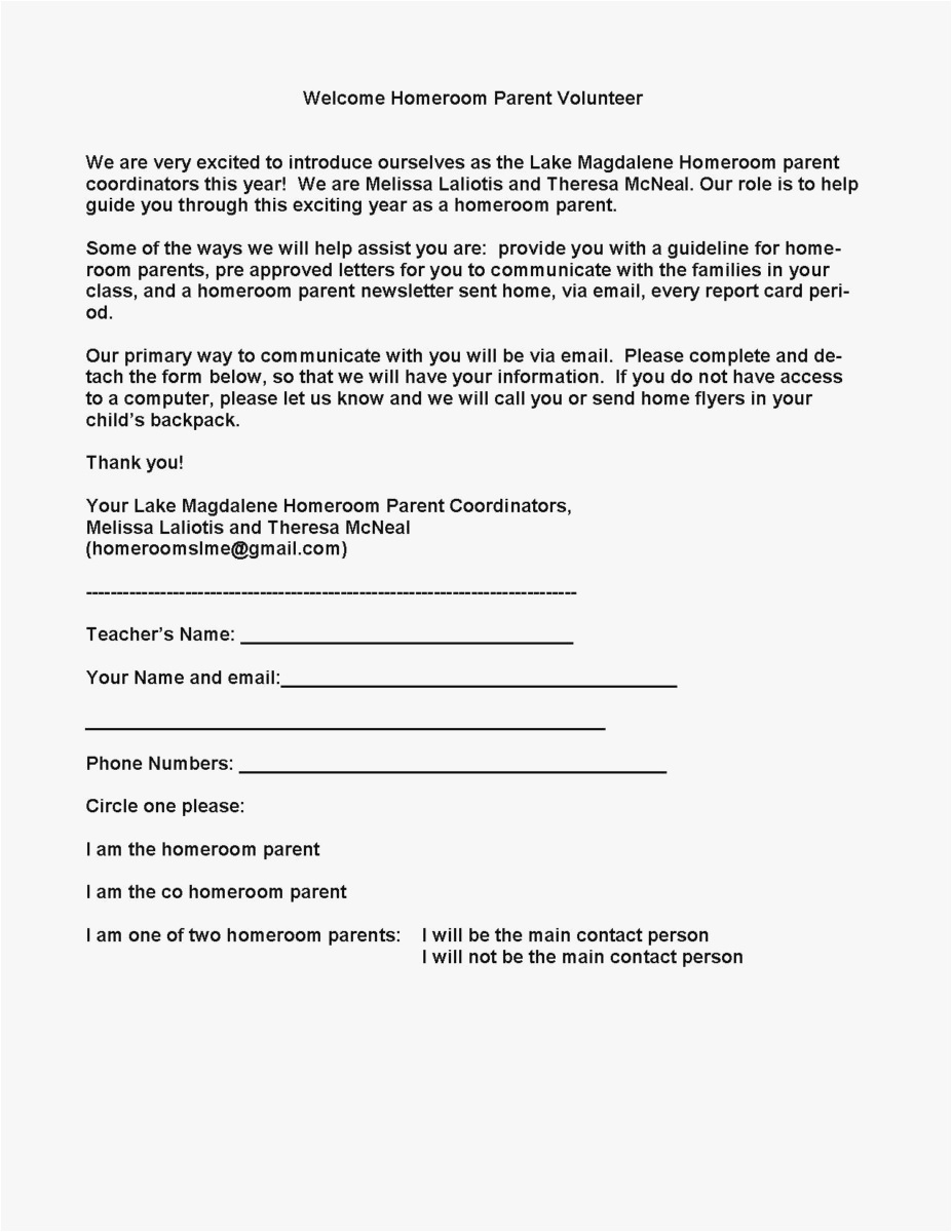 Rent Free Letter From Parents Template - 23 Parent Letter Template format