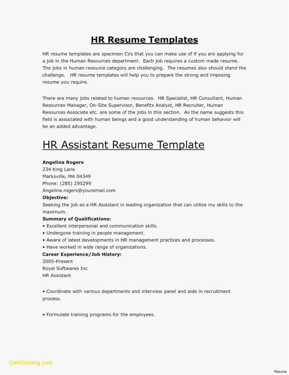 Actor Letter Of Intent Template - 25 Admin Resume New