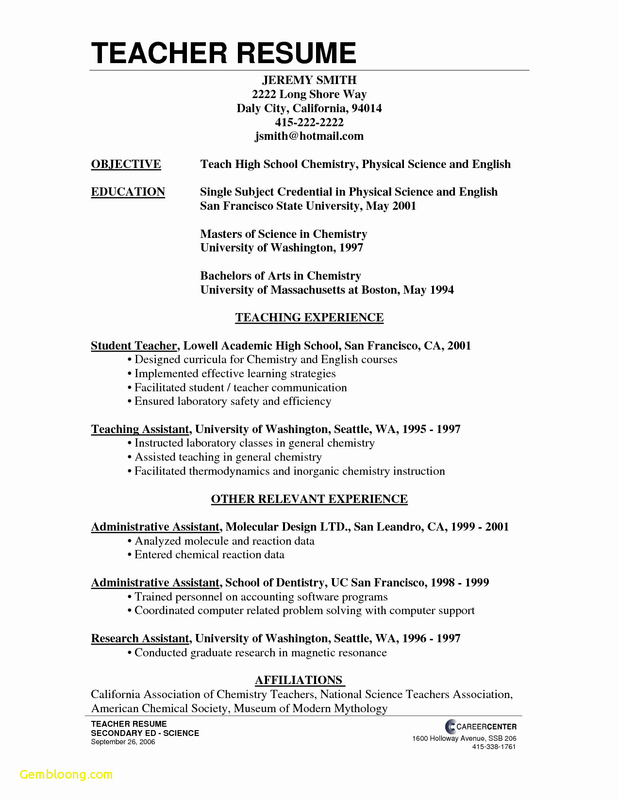 Cover Letter Template Doc Download - 25 Resume Examples Word Doc Free Sample Resume