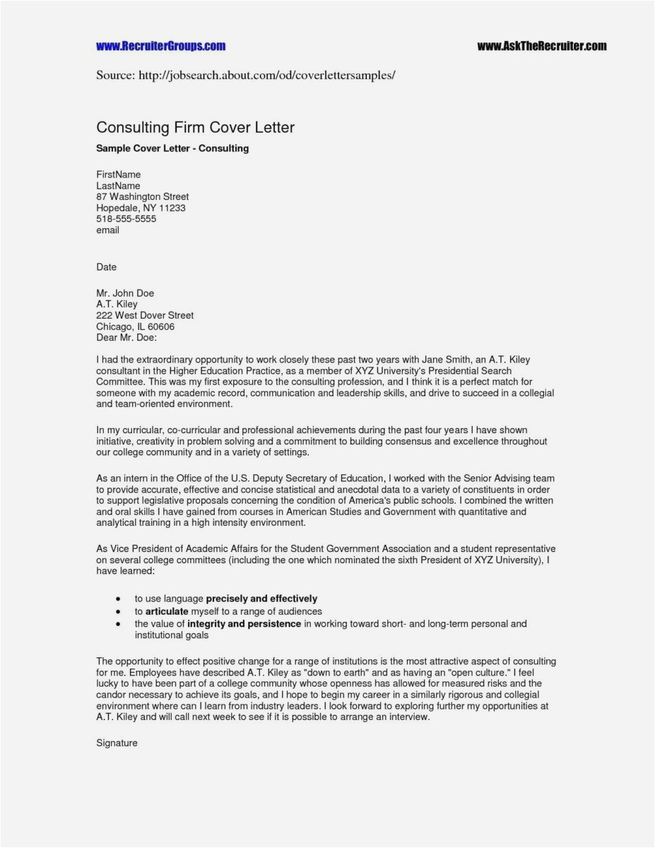 Free Job Cover Letter Template - 26 Best Free Cover Letter New