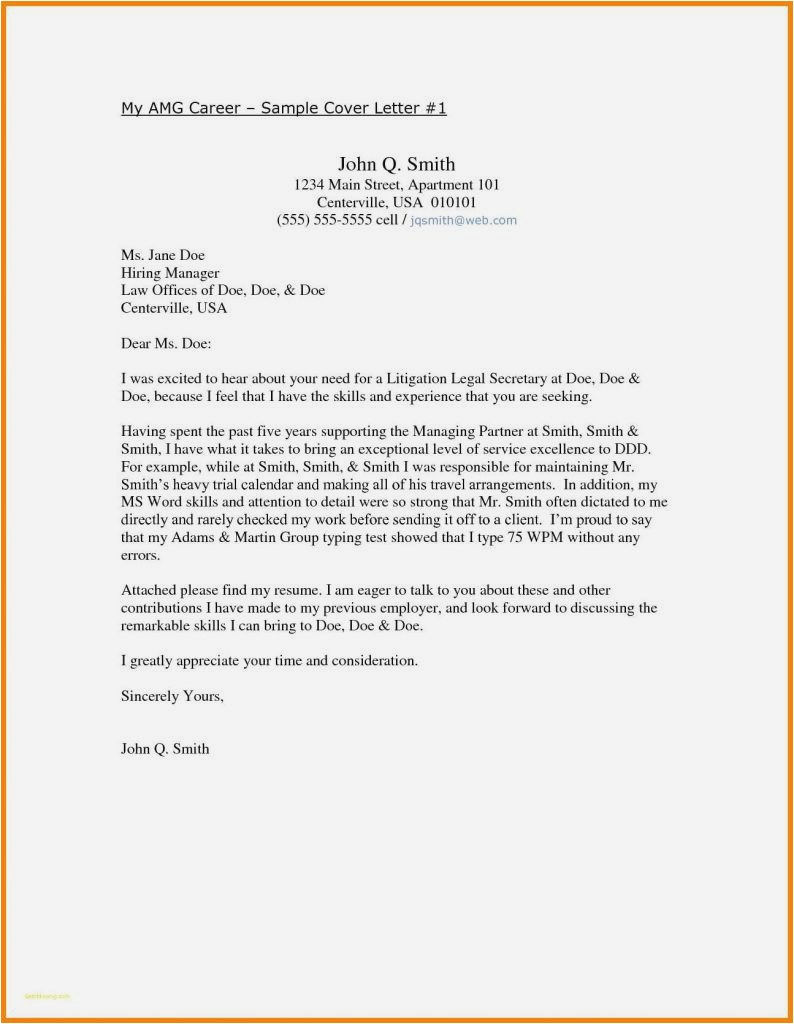 Apartment Offer Letter Template - 29 Best Employment Cover Letter Template Example