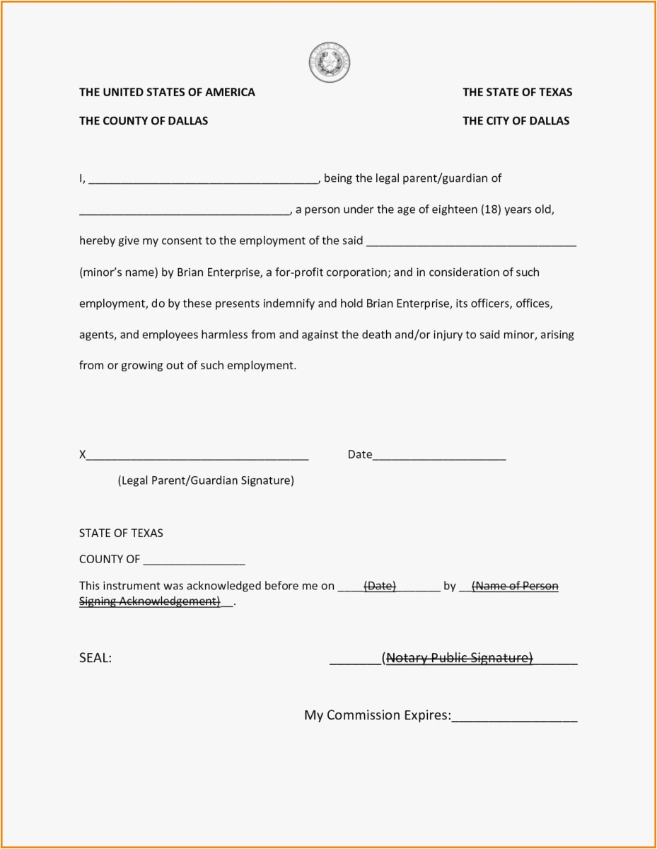 Notary Letter Template Free - 29 Notary Template Example