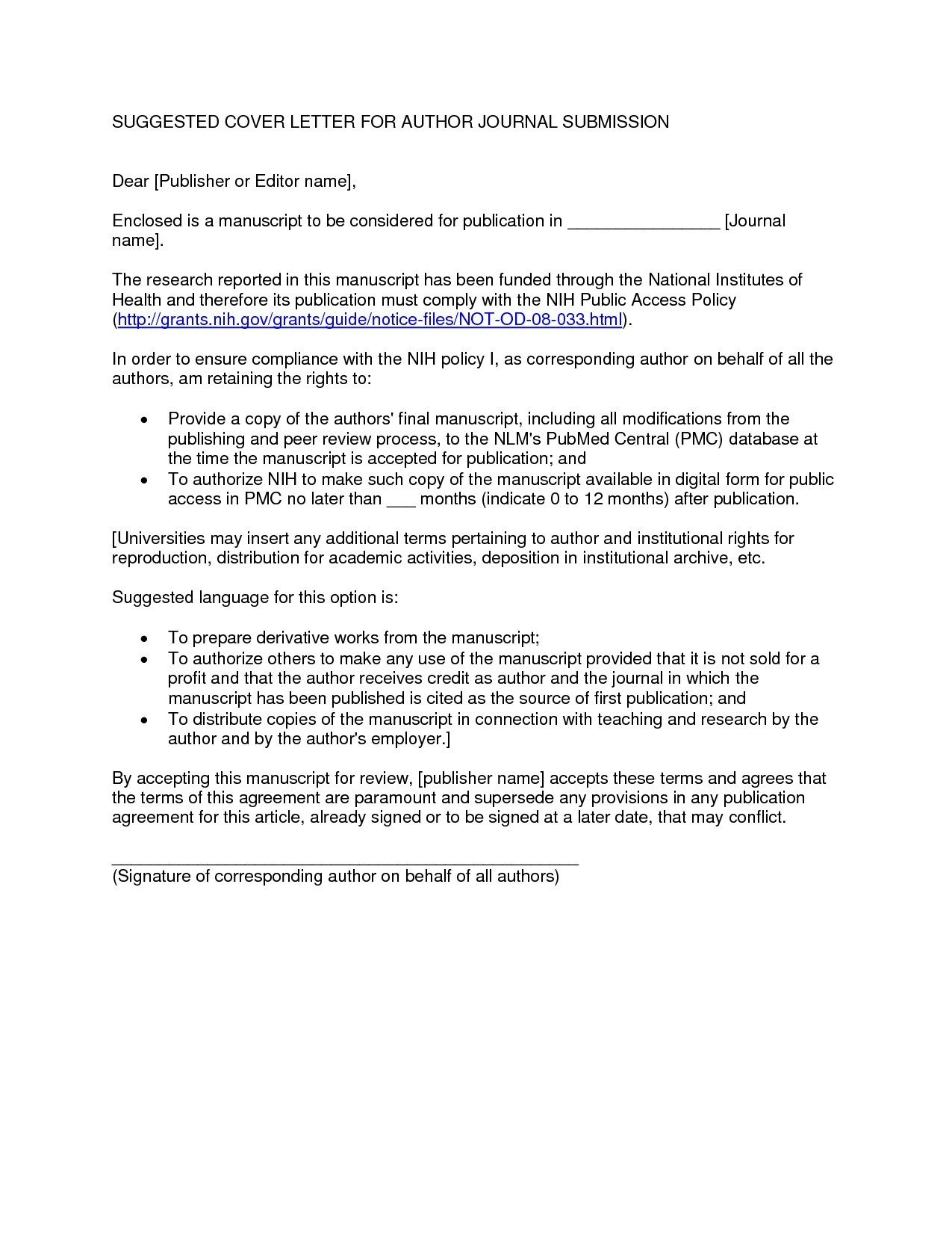 Trust Distribution Letter Template