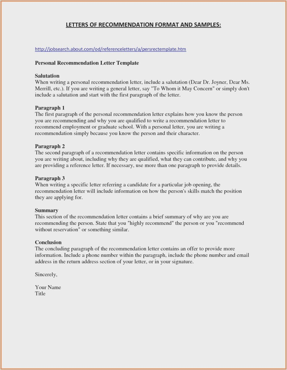 Template for Letter Of Reference for Employment - 30 New Employment Reference Letter Examples