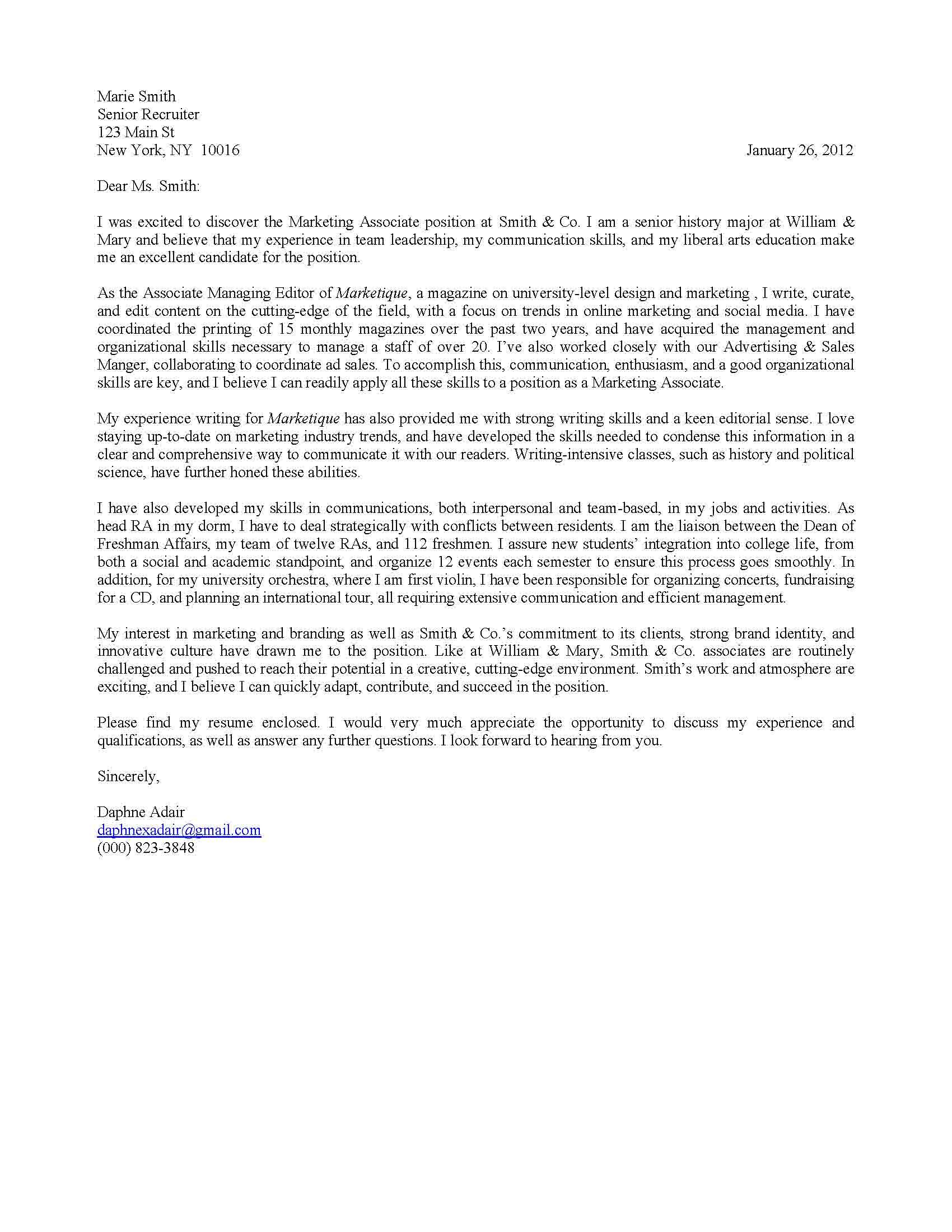 Information Technology Cover Letter Template - 5 Steps to Crafting A Killer Cover Letter for the Job Seeking