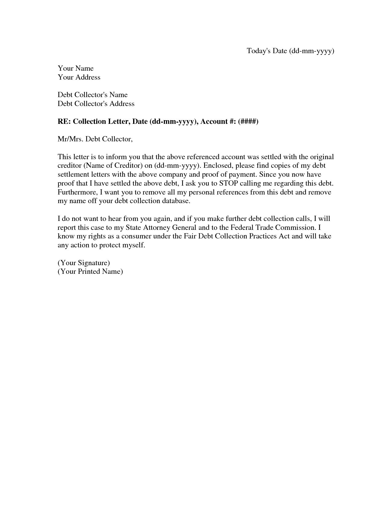 Legal Settlement Offer Letter Template - 50 Awesome Settlement Fer Letter Hd5