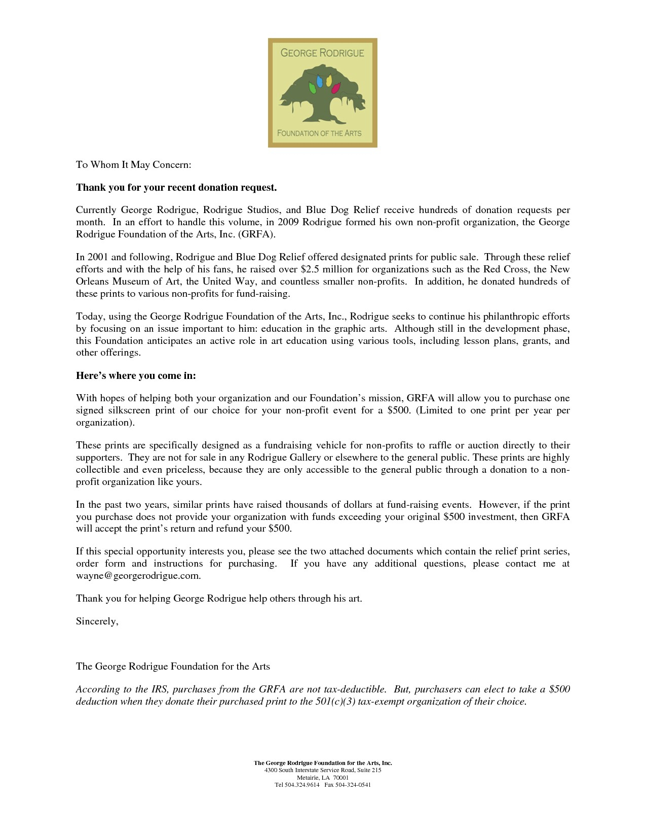 fundraising letter template non profit organizations collection