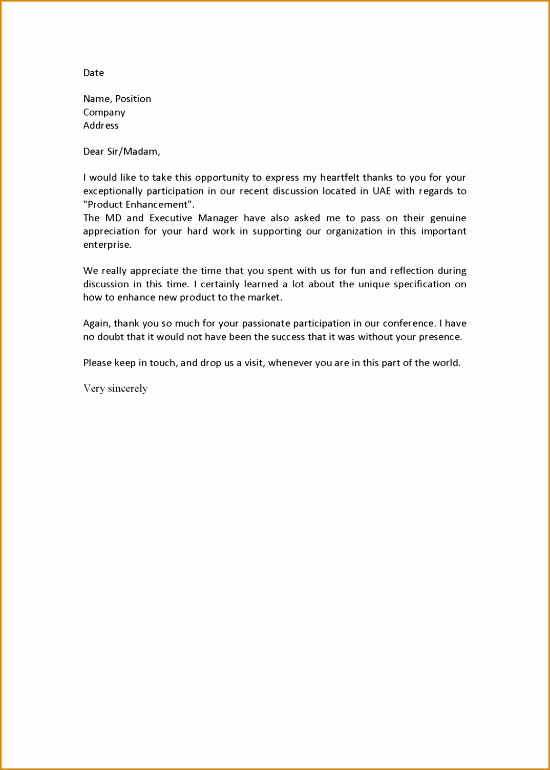 Rental Reference Letter From Friend Template - 6 Personal Letter Re Mendation Examples Besttemplates