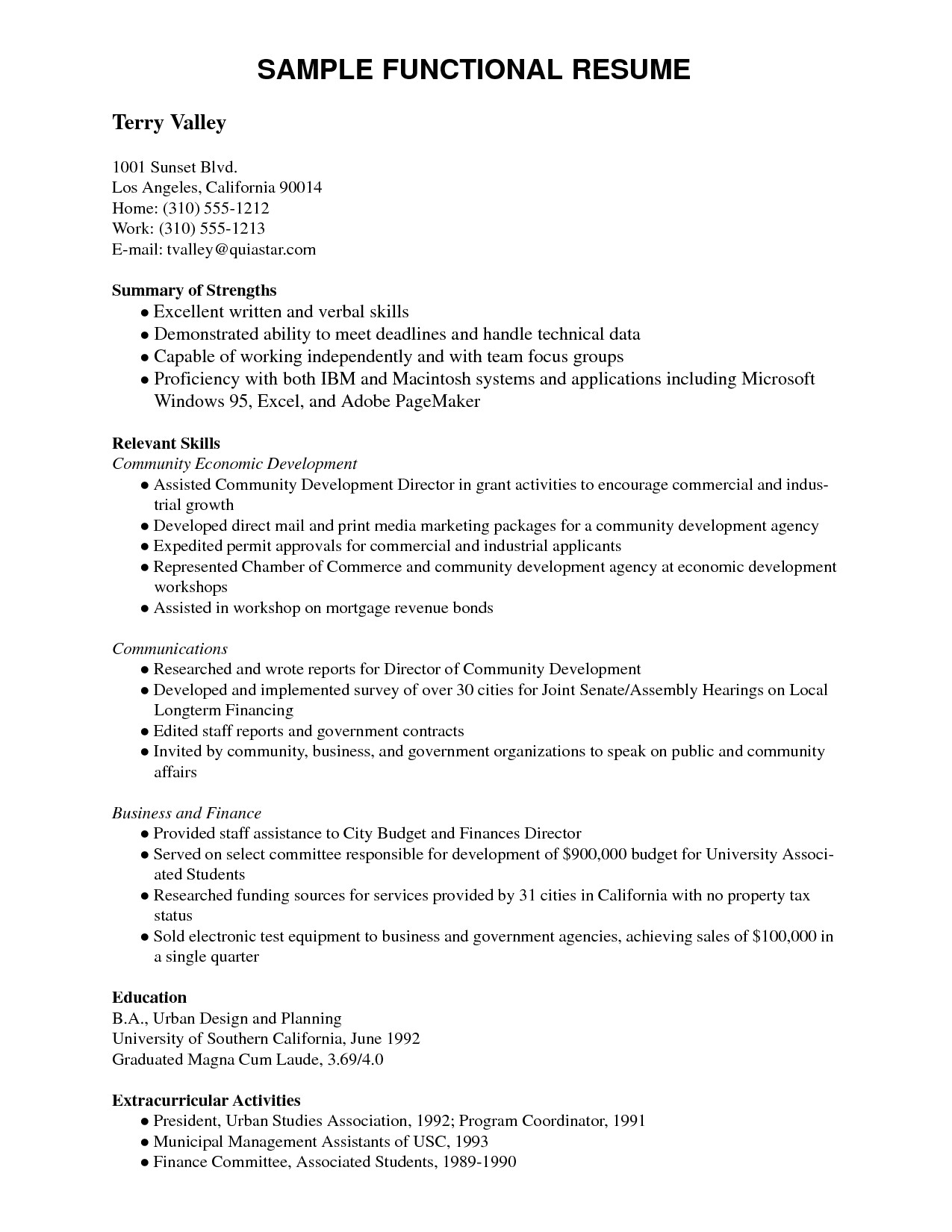 Letter to Senator Template - 64 Concepts Resume Writing Template