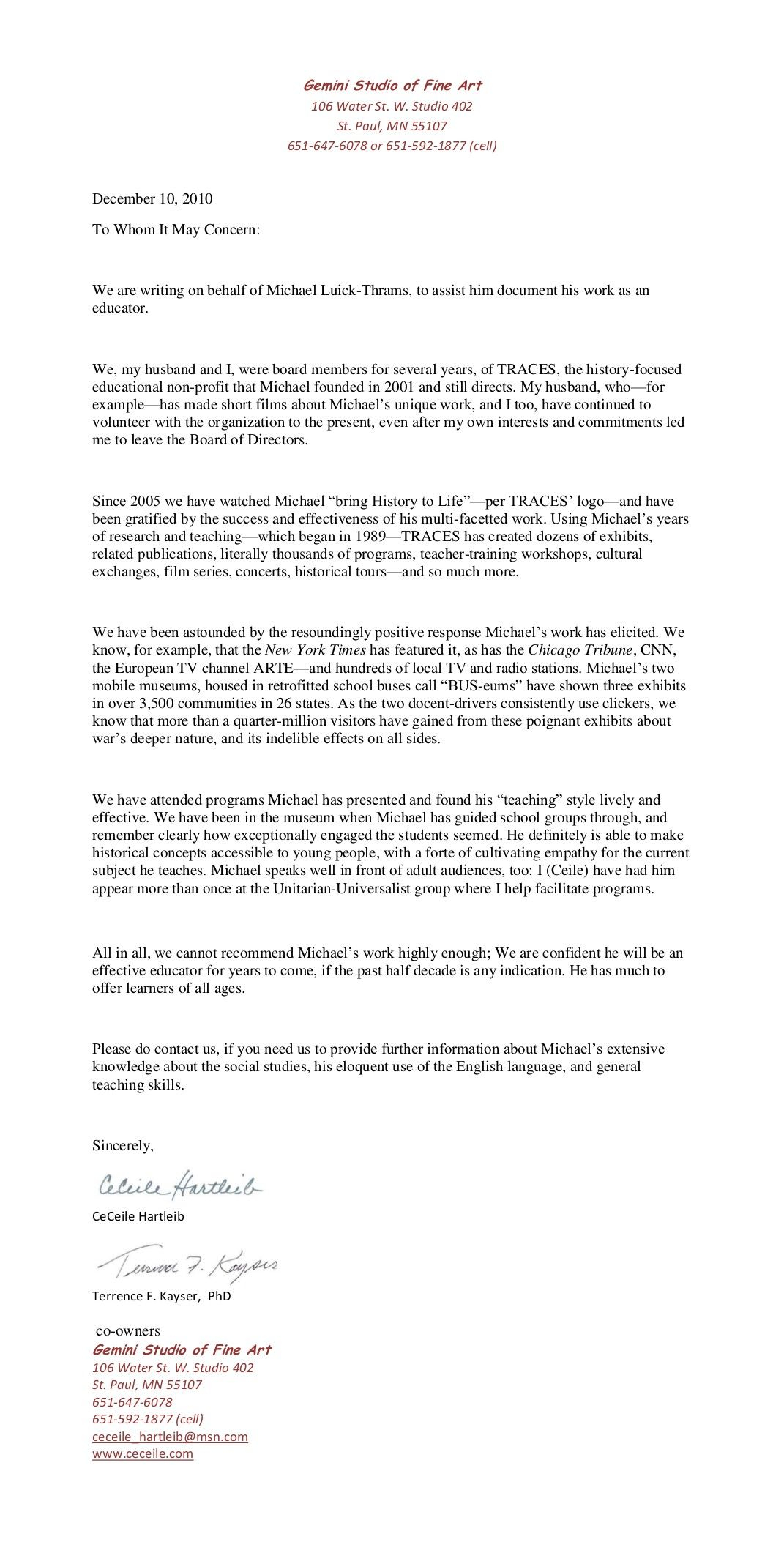 Immigration Recommendation Letter Template - A Personal organizer Letterpersonal Re Mendation Letter Cover
