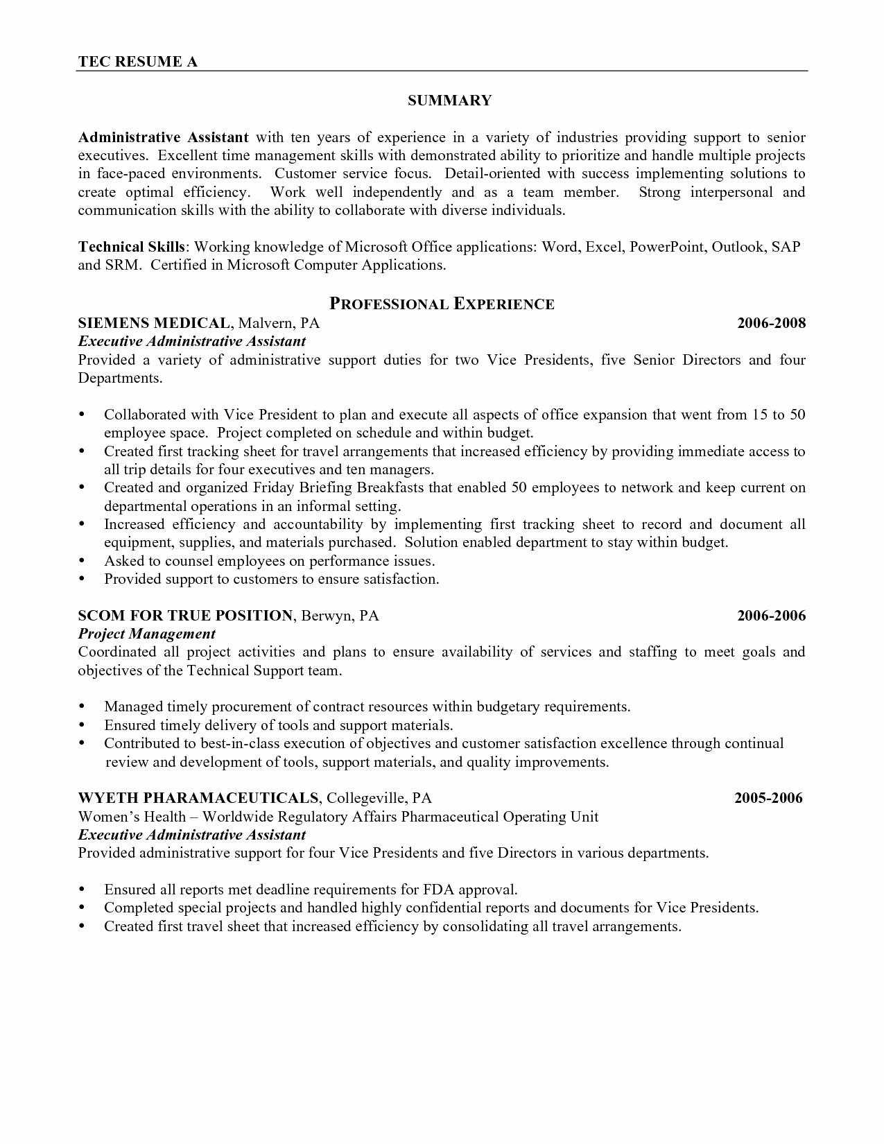 Customer Satisfaction Letter Template - Administrative assistant Cover Letter Template Awesome New Example