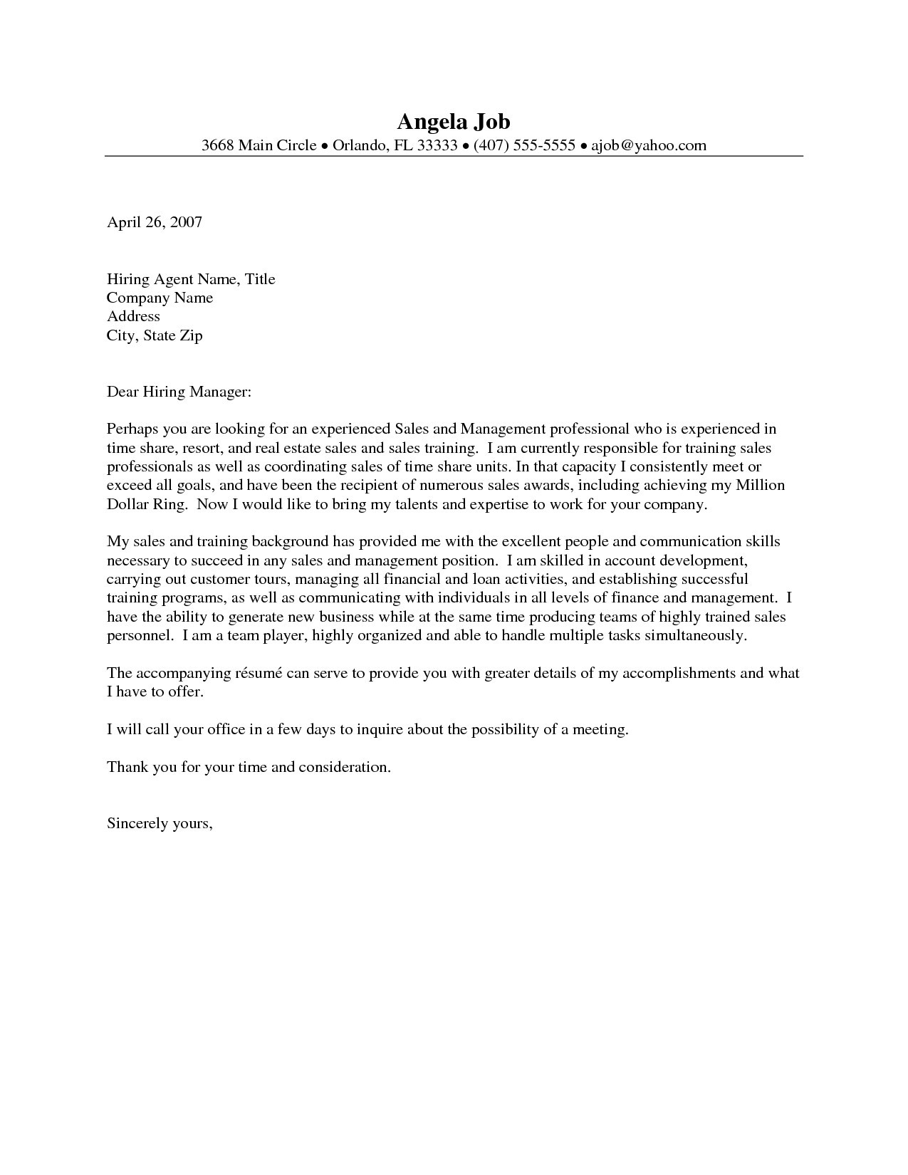 real estate introduction letter template Collection-Cover Letter Sample for Real Estate Job New Sample Cover Letter for Real Estate Job Valid 2-a