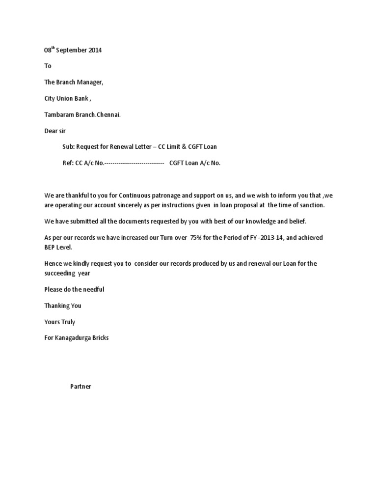 Refund Demand Letter Template - Bank Renewal Letter Accountancy and Auditing