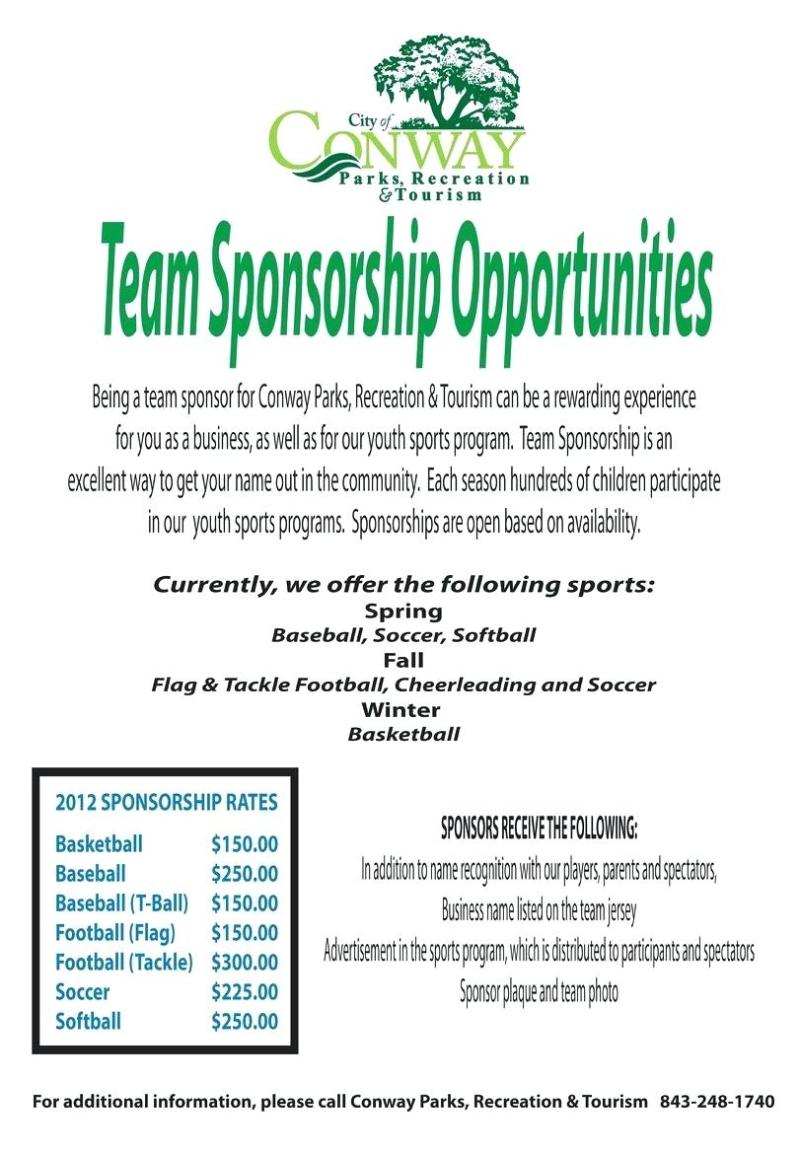 youth football sponsorship letter template collection