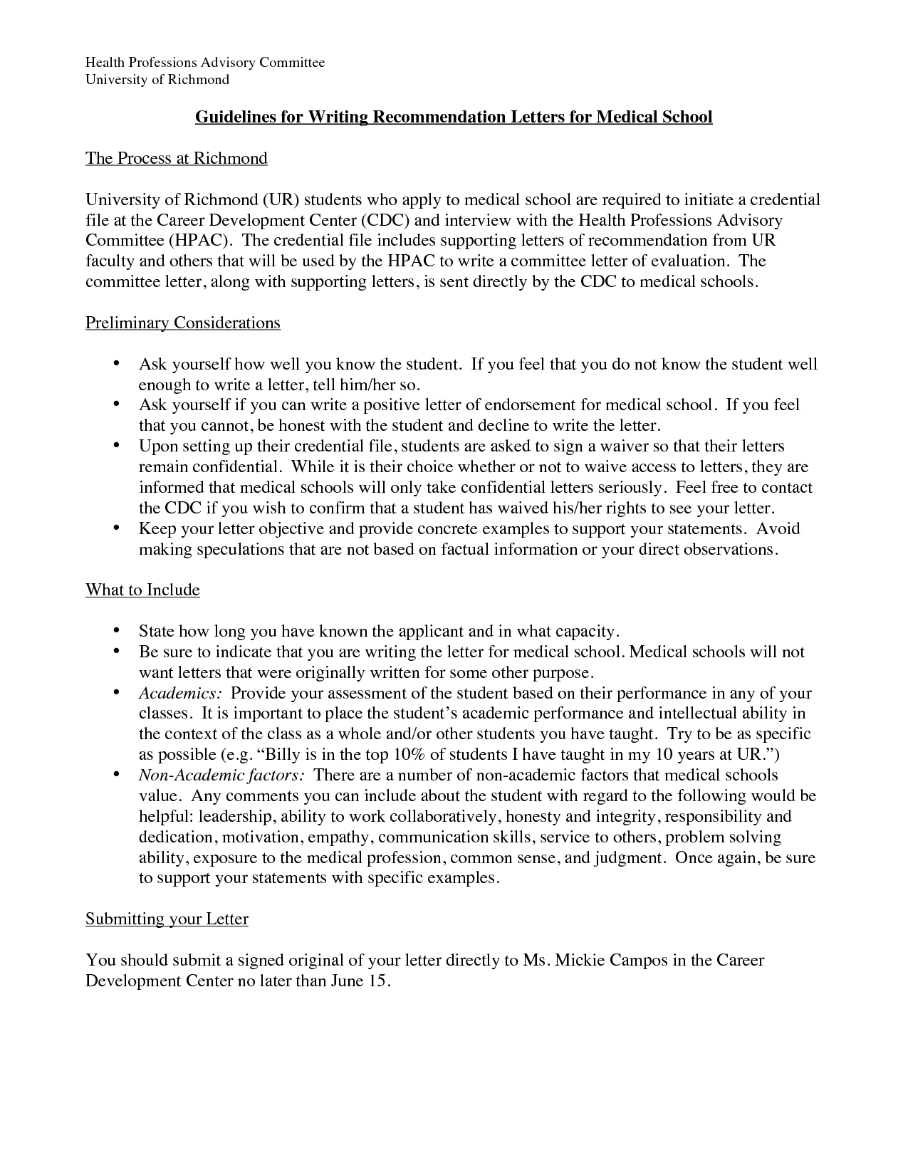 Medical School Letter Of Recommendation Template - Best Doctors Note for School Template