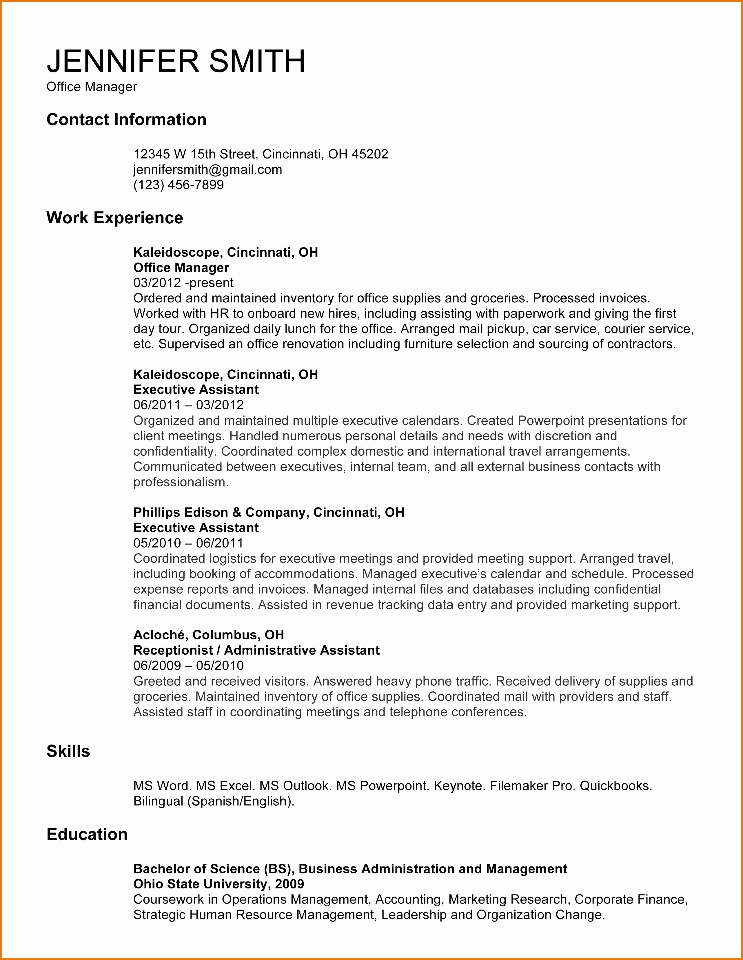 English Cover Letter Template - Best Resume and Cover Letter Template