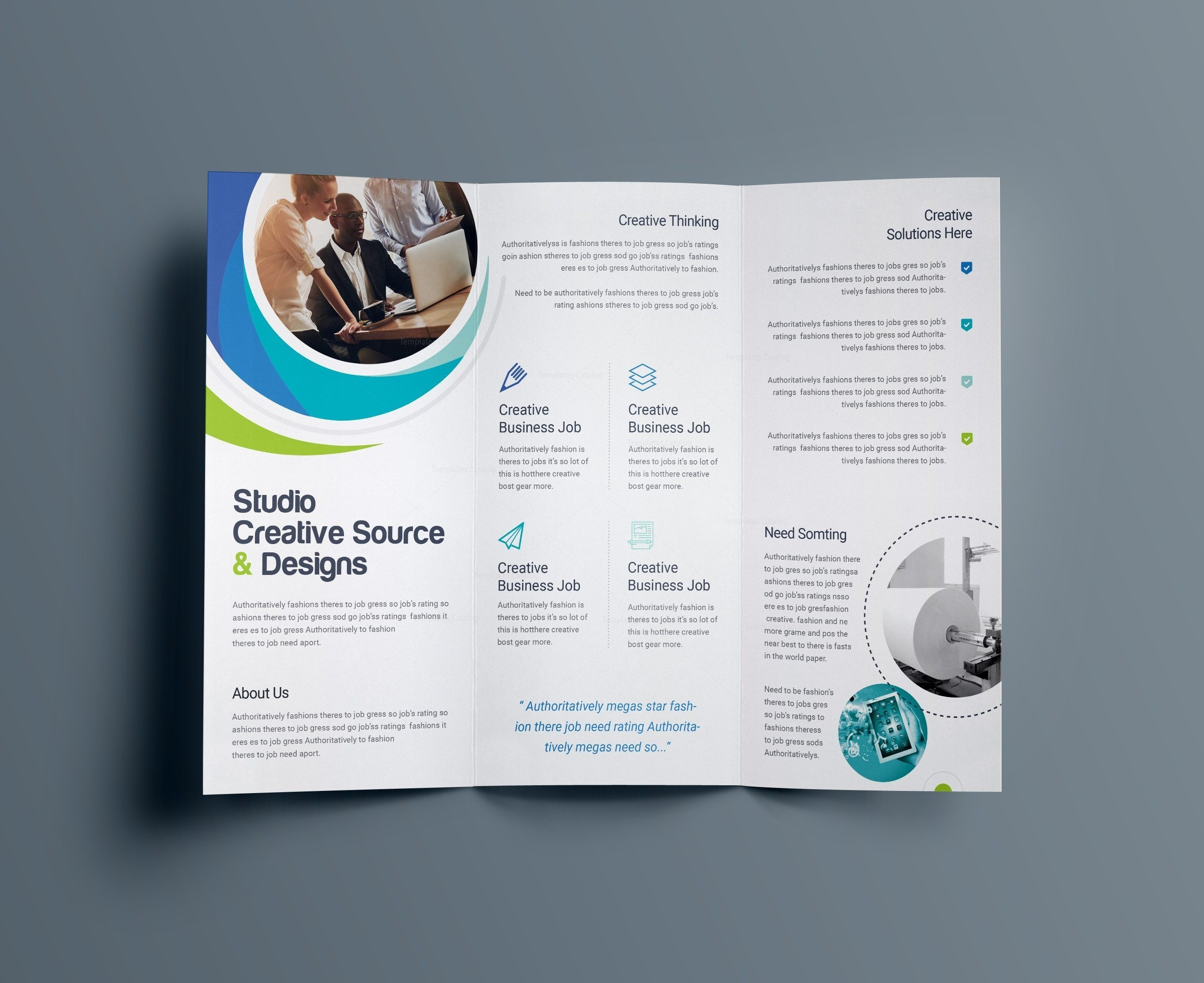 Letter Folding Template - Business Brochure Template Inspirationa Information Booklet Template