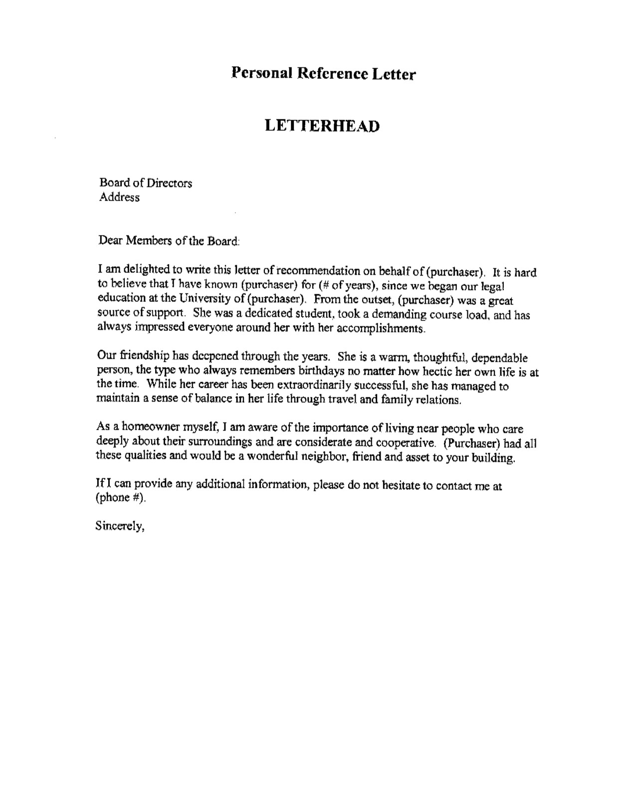 personal donation letter template collection letter templates