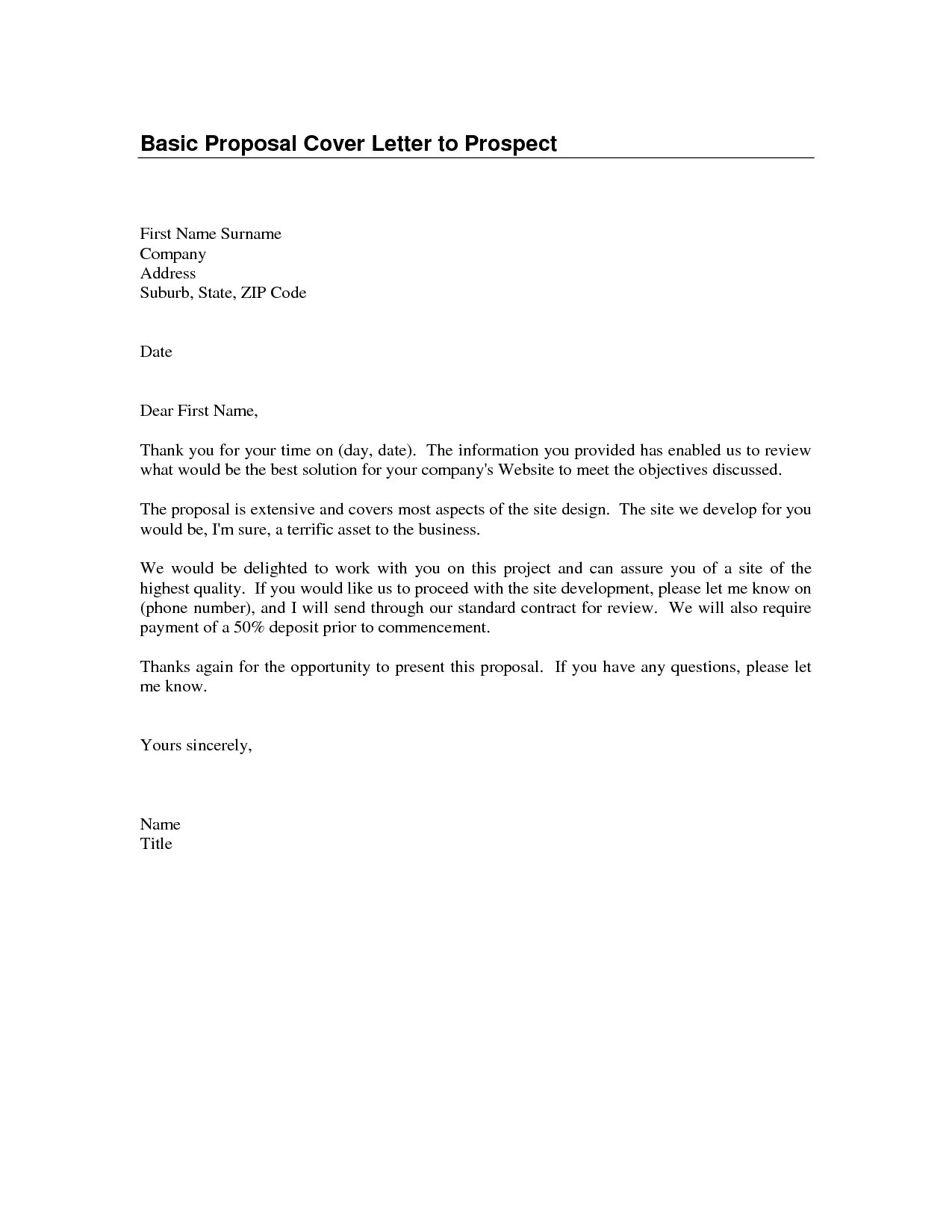 Business Proposal Acceptance Letter Template - Business Letter format Method Delivery Best Business Proposal