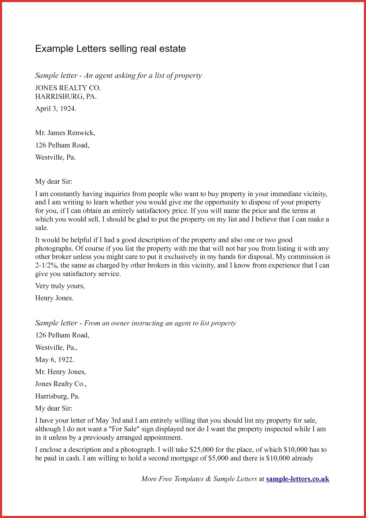 land purchase offer letter template samples letter templates