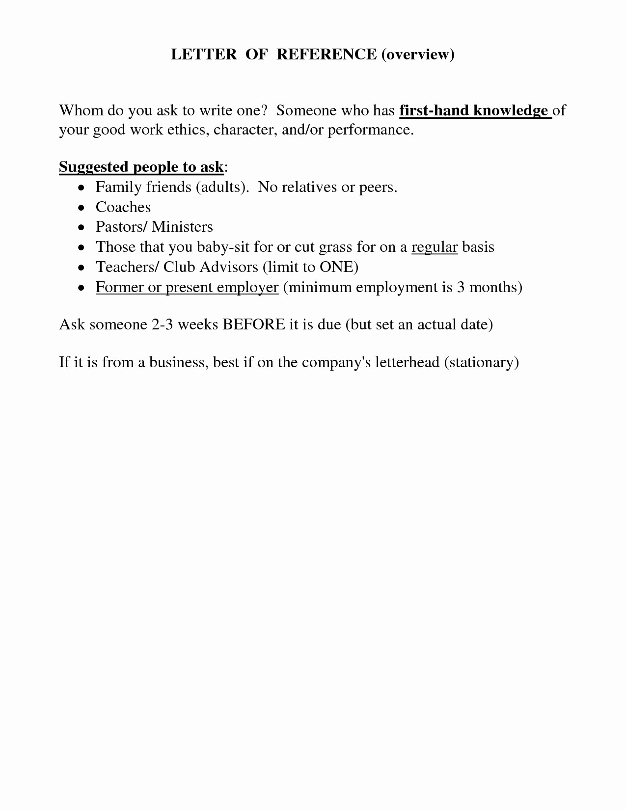 Personal Reference Letter for A Friend Template - Character Reference Letter Template for Job Fresh Letter Re