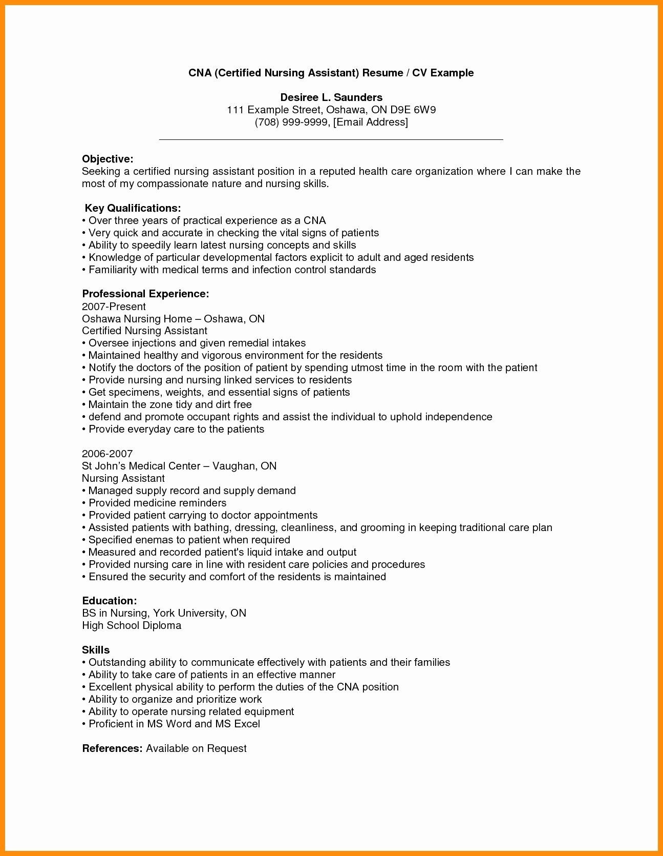 Traditional Cover Letter Template - Chemotherapy order Templates