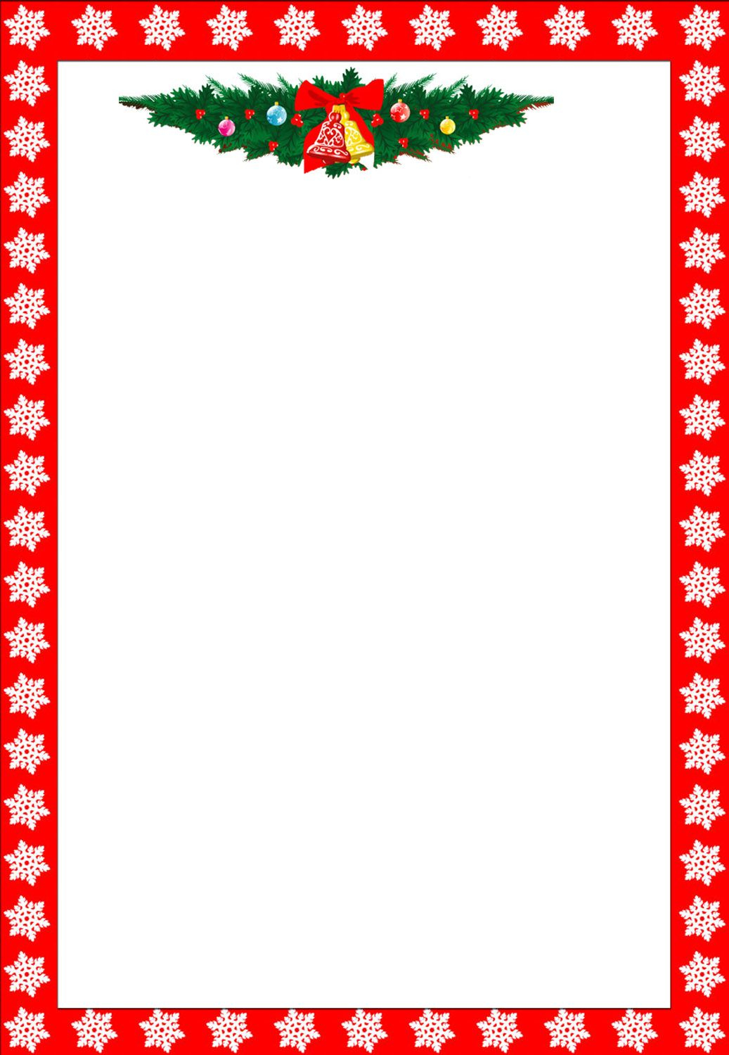 christmas letter border template Collection-Christmas Clip Art Borders 12-r