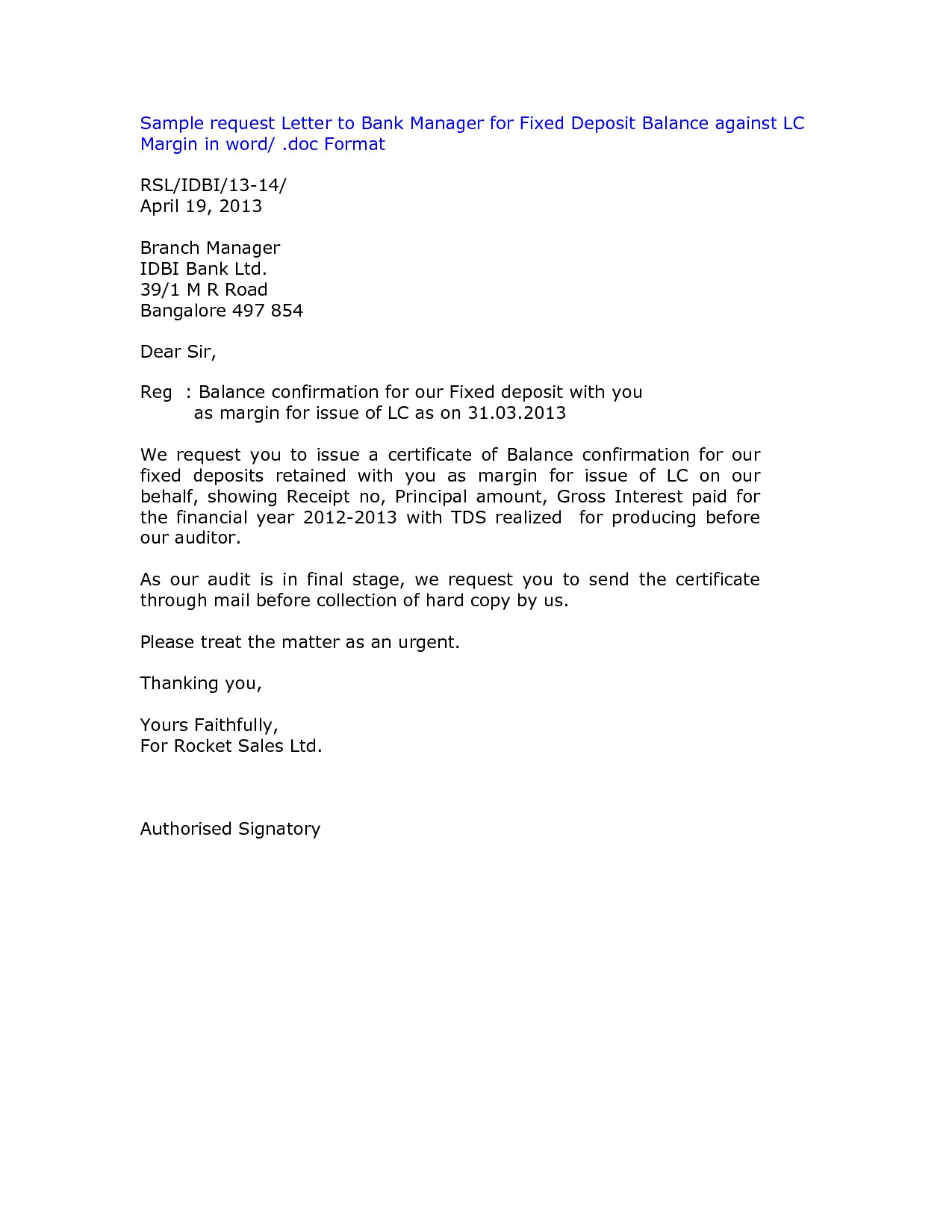 Audit Confirmation Letter Template - Confirmation Letter Email format Copy Sample Sale order Template