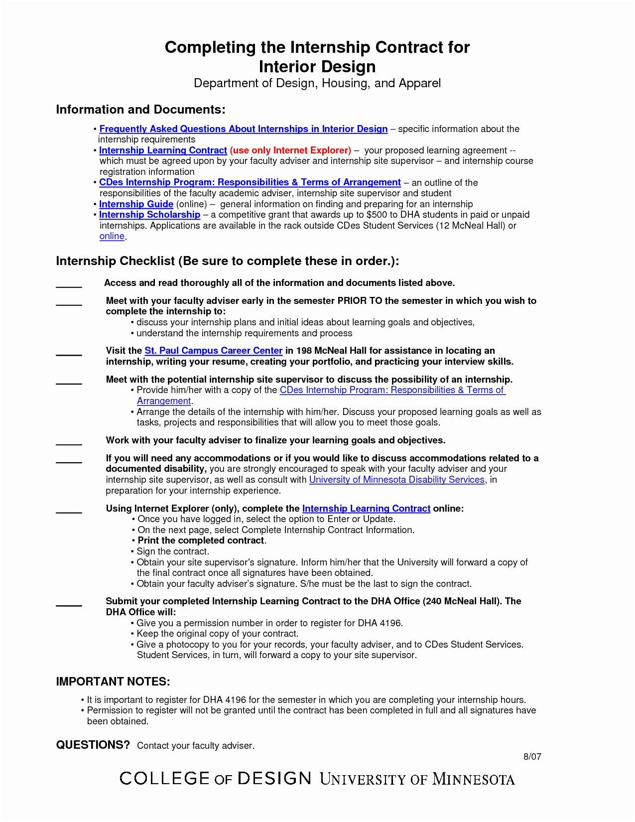Interior Design Letter Of Agreement Template - Contract Agreement Template