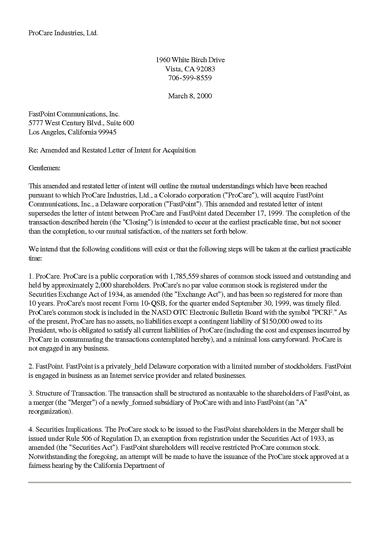 Subcontractor Letter Of Intent Template - Contractor Letter Intent Sample for Accreditation Building Not to
