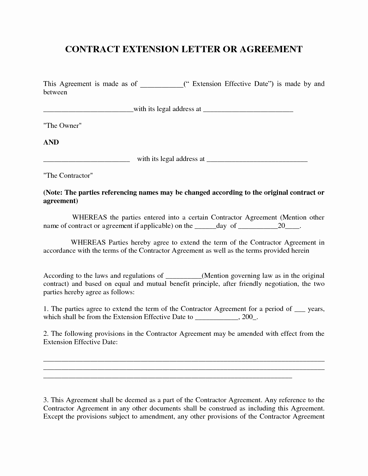 Child Maintenance Agreement Letter Template - Cover Letter for Contract Agreement Acurnamedia