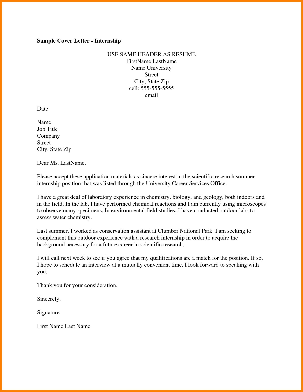 Theatre Cover Letter Template - Cover Letter for Line Job Application Best Universal Cover Letter