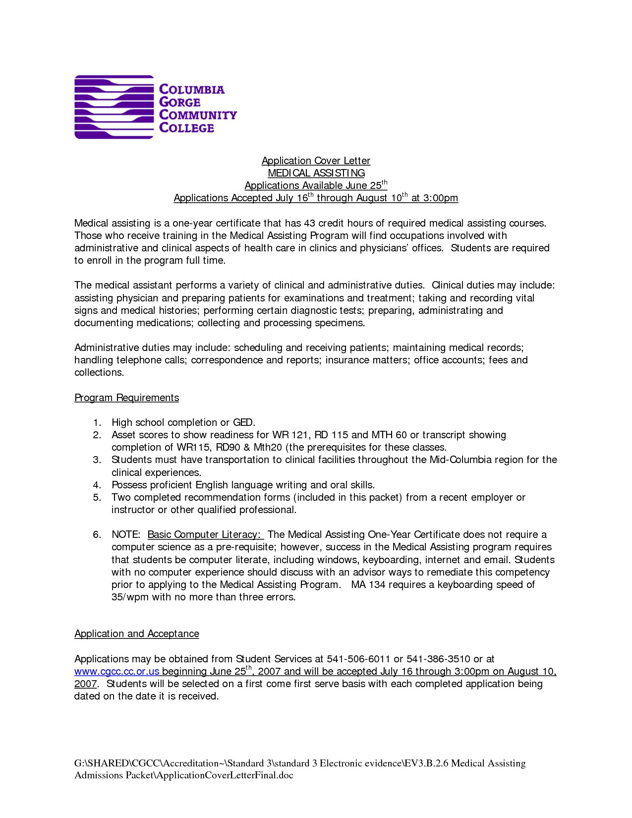 Doctor Diagnosis Letter Template - Cover Letter for Resume for Medical assistant Cover Letters for