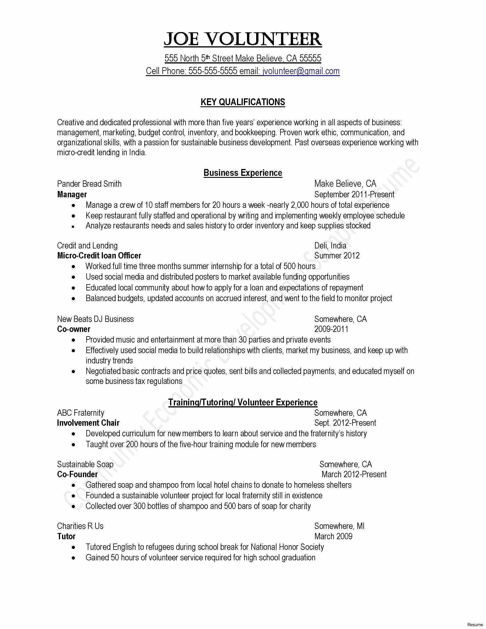Quick Easy Cover Letter Template - Cover Letter Template for Resume Unique Od Specialist Sample Resume