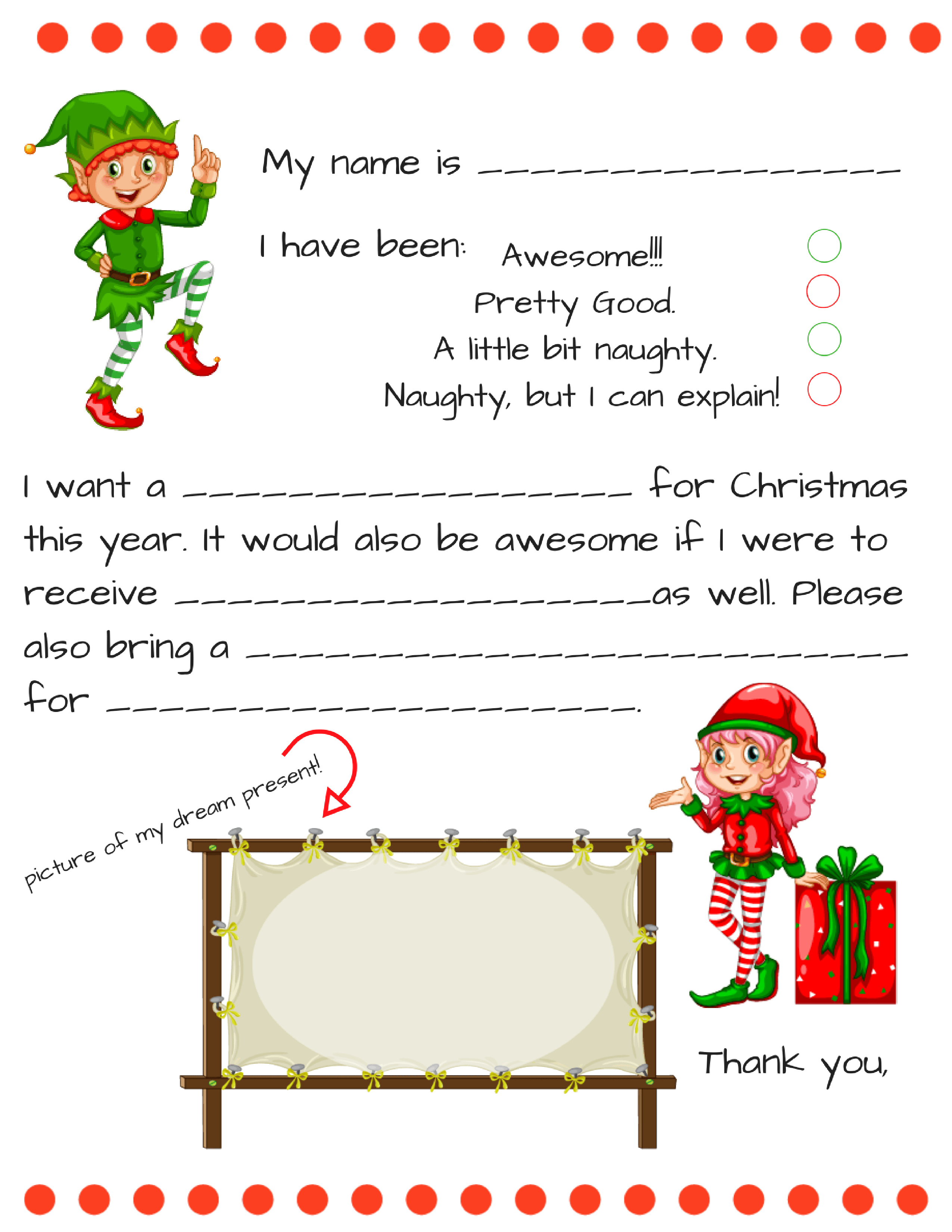custom letter from santa template collection letter templates