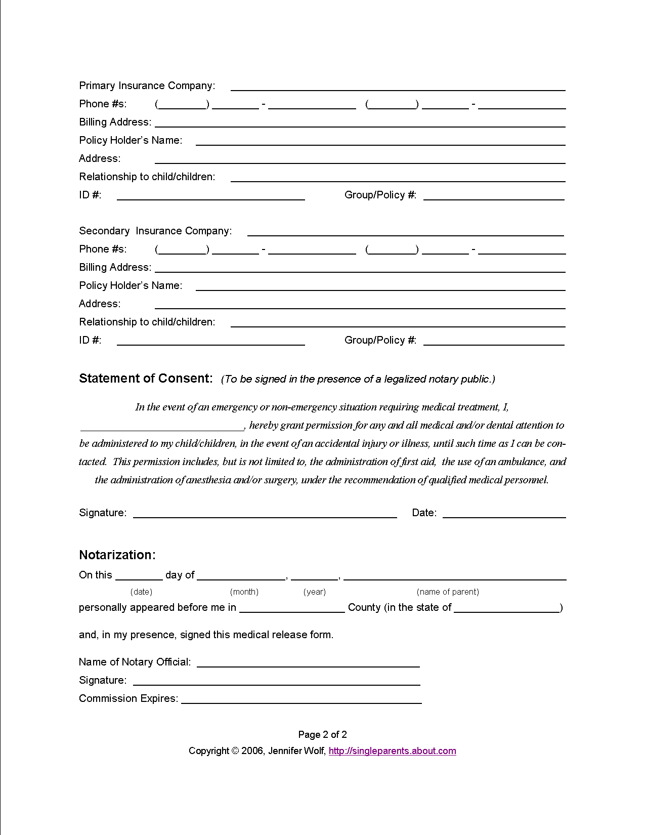 medical release letter template Collection-Printable Medical Release Form for kids Important to have when your kids stay with someone else or when you have a friend for the weekend 4-d
