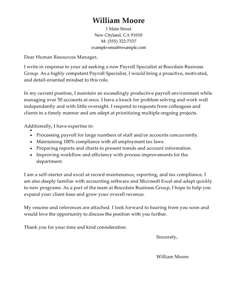 Cover Letter Template Accounting - Document Specialist Cover Letter Sample Livecareer Data Entry Cover