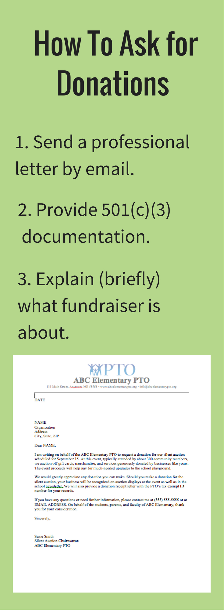 Silent Auction Donation Request Letter Template - Download Our Free Donation Letter Request Template