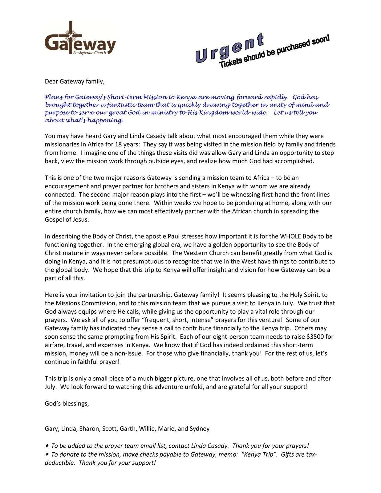 Mission trip letter template collection letter templates mission trip letter template early childhood philosophy statement examples along with mission spiritdancerdesigns Image collections