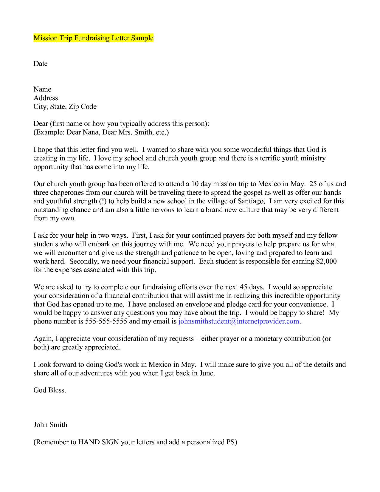 Mission Trip Letter Template - Early Childhood Philosophy Statement Examples as Well as Mission