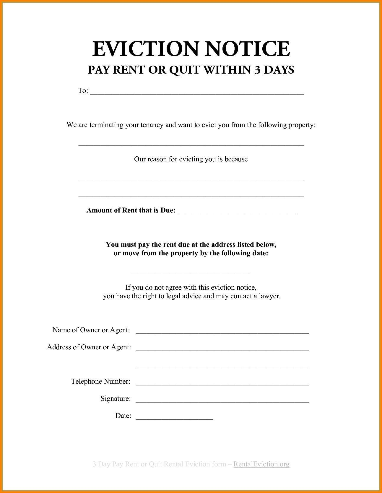 Roommate Eviction Letter Template Collection Letter Templates