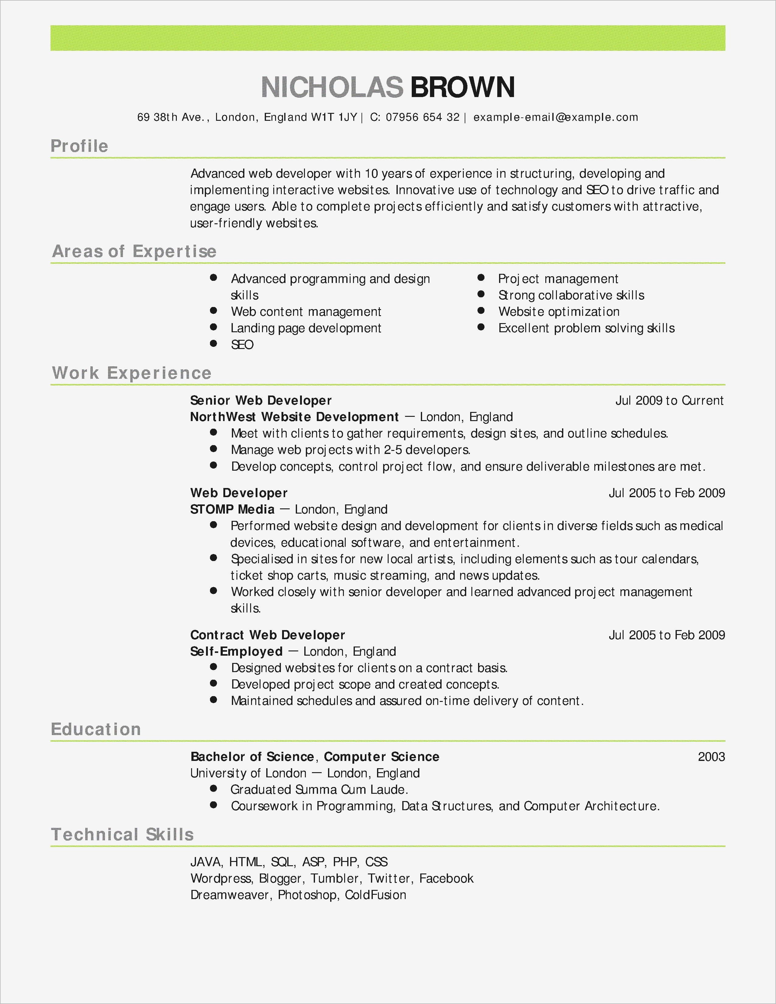 Receipt Letter Template - Example A Resume Cover Letter Ideas