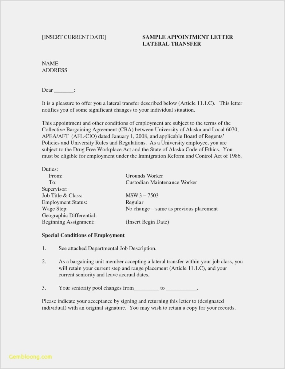 Job Offer Proposal Letter Template - Example Job Resume Beautiful 21 Federal Resume format Professional