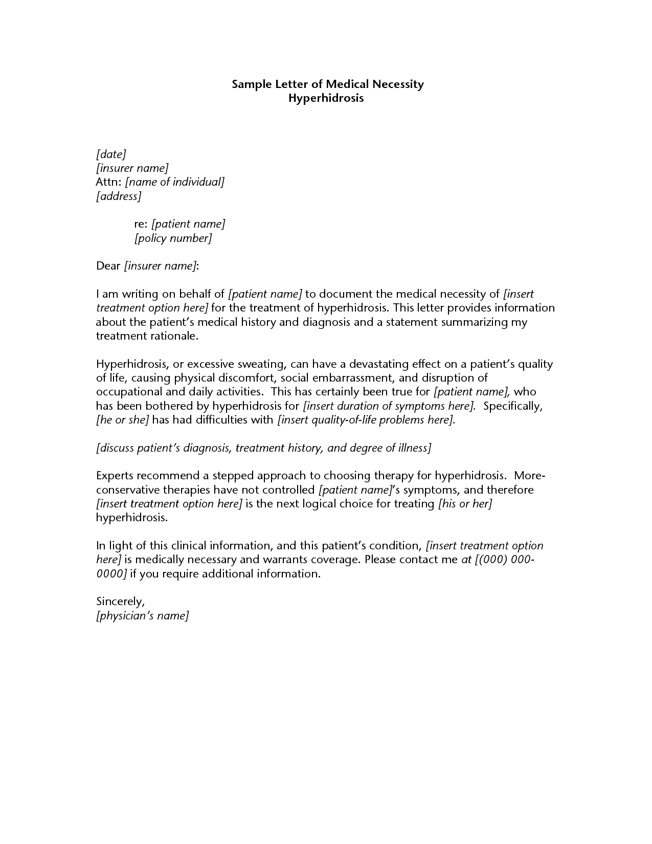 letter of medical necessity for physical therapy template Collection-letter of medical necessity 2018 examples of doctors letter copy best s of doctors letter medical 16-a